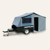 On Road Camper Trailers