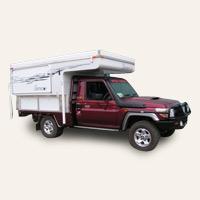 Northstar - Pop Top Slide On Campers