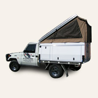 Outback Campers - Aluminium Tray Topper