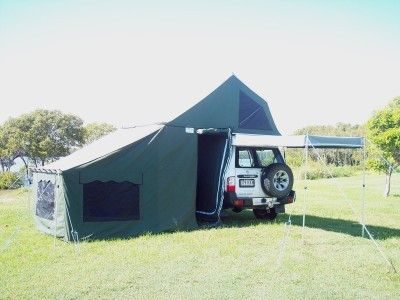 Mobile Room Roof-top Tent - Family & Jeffs Shed - Mobile Room Roof-top Tent - Family - Aussie Traveller ...