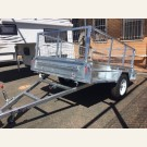 8'x5' tipper trailer with cage