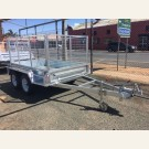 Tandem trailer 8x5