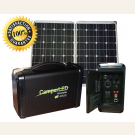 Lithium Battery CL-3000 Power to Go System with 120W Solar Panel