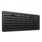 Thetford Small Bottom Fridge Vent - 63124627 Suit up to 100L, Black