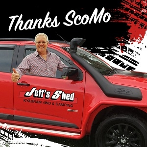 Thanks ScoMo